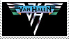 Van Halen stamp by Bourbons3