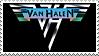 Van Halen stamp by Bourbons3