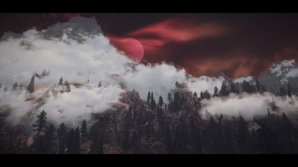 Red Moon by Rosendaemonin