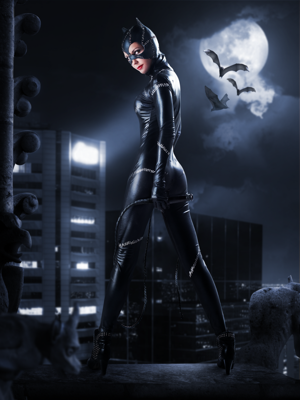 Catwoman by JoeDiamondD