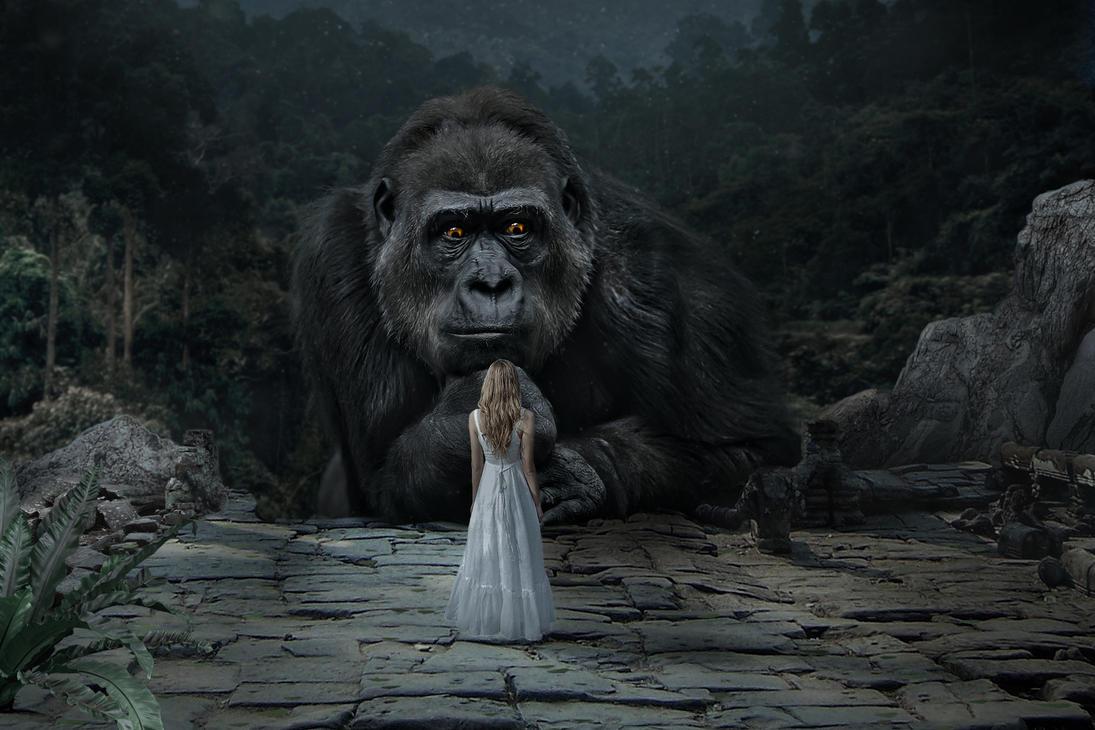 King Kong by JoeDiamondD