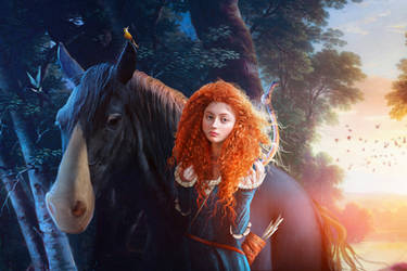 Merida by JoeDiamondD