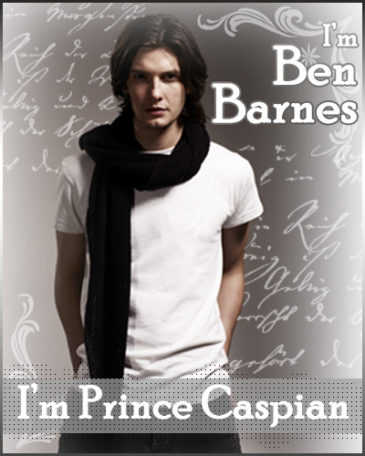Ben Barnes : Prince Caspian by bluebenji