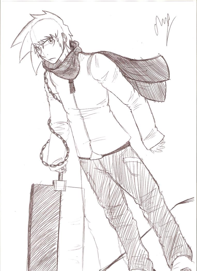 Jason Sketch by ChazFullmetal