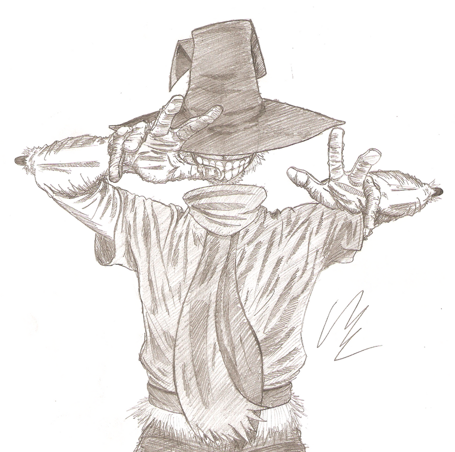 Halloween 3rd Night Special - Scarecrow by ChazFullmetal