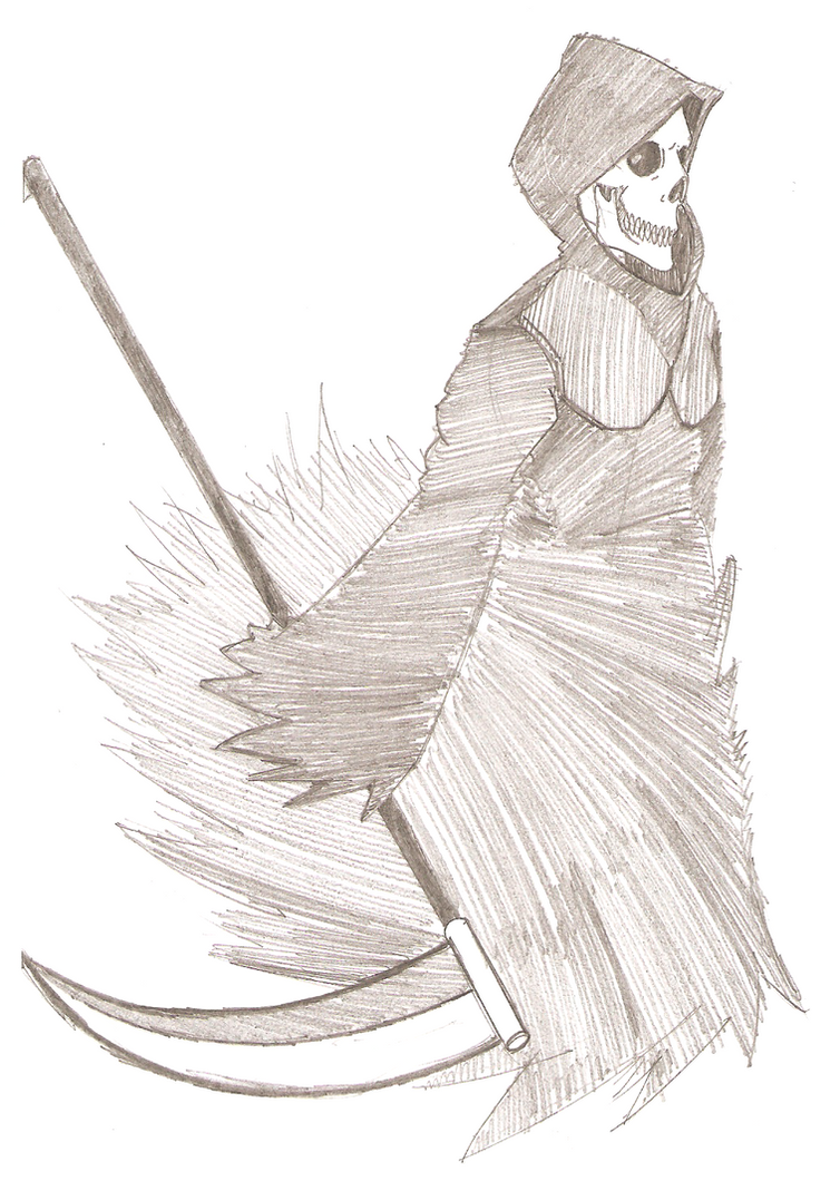 SketchDumpShowcase 19 - Death by ChazFullmetal
