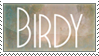 Birdy stamp by Liljoja