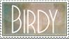 Birdy stamp by Liljoja