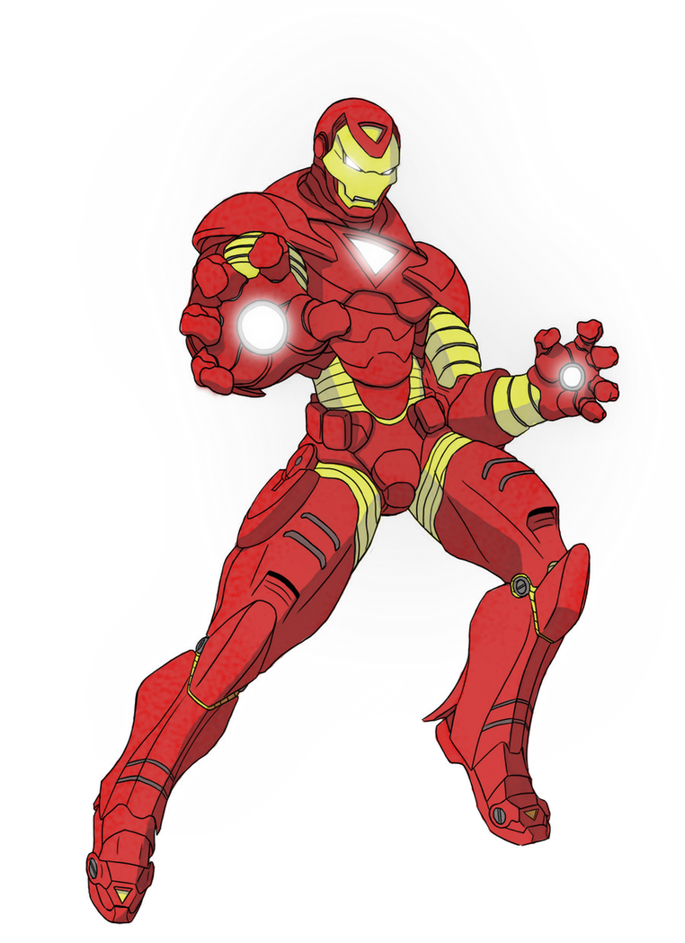 Ironman by mlpochea on DeviantArt