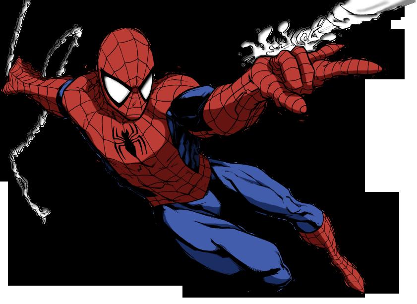 Super 4 Cartoon Characters : Spiderman by mlpochea on deviantart