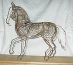 Copper Wire Horse