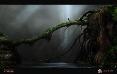 Primal Carnage :: Tree Bridge by MissWiggle