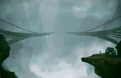 Speedpaint :: Drippy Bridge Place (30m*cough*) by MissWiggle