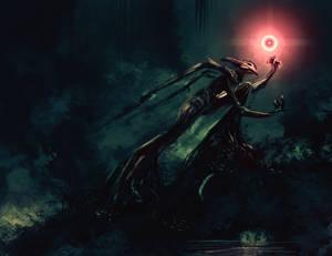 Spitpaint :: Swamp Necromancer