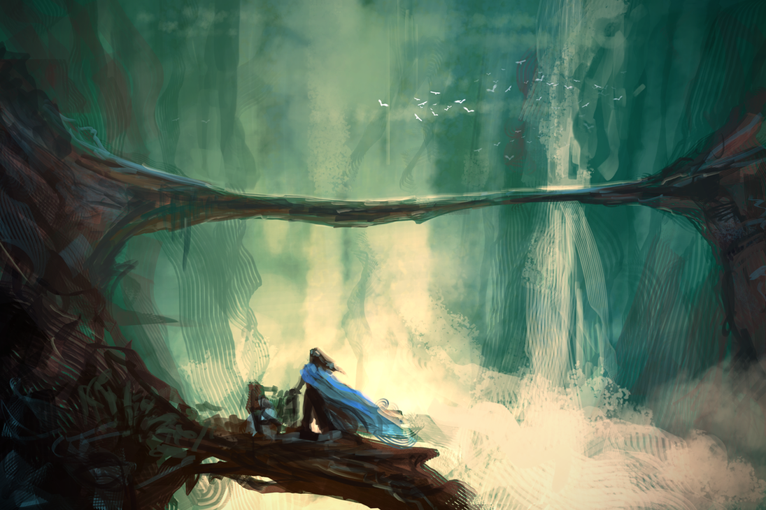 Spitpaint :: Arch by MissWiggle