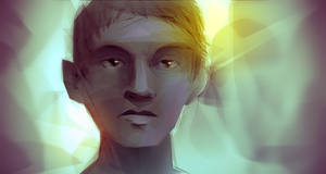 Speedpaint :: Lady Face Angstmeister