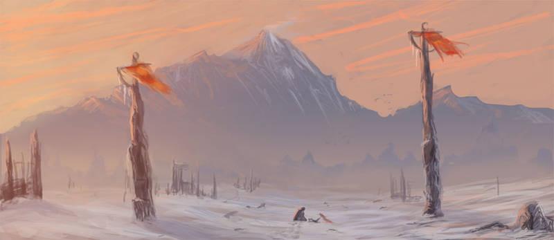 Sketch :: Winter's Chill
