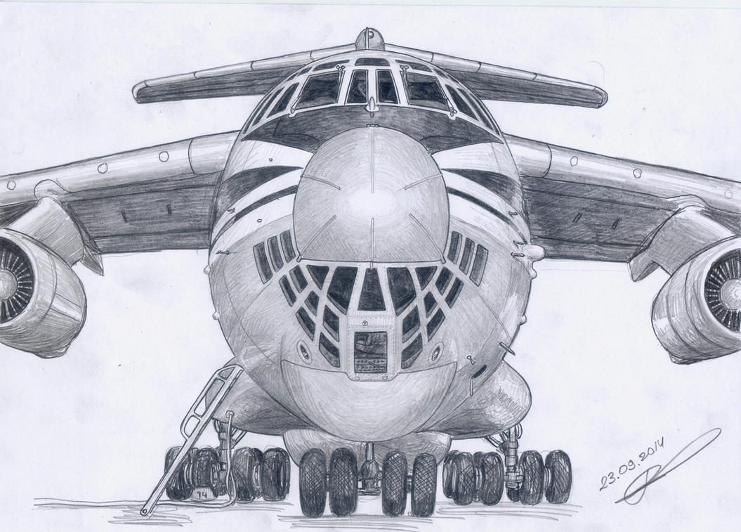 Smile Il-76 by GrafDeWolfGuN