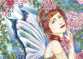 Blossom Faerie by VictoriaThorpe