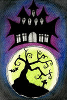 Haunted House by VictoriaThorpe