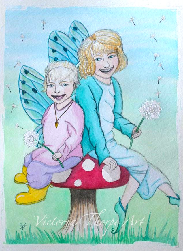 Young Fairies by VictoriaThorpe