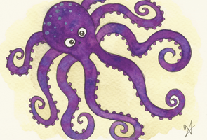 Octopus by VictoriaThorpe