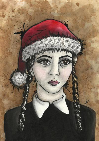 Wednesday Addams Christmas Parody by VictoriaThorpe