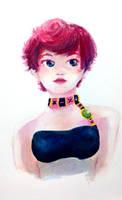 Watercolored Trish Una