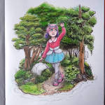 Deer girl - remake