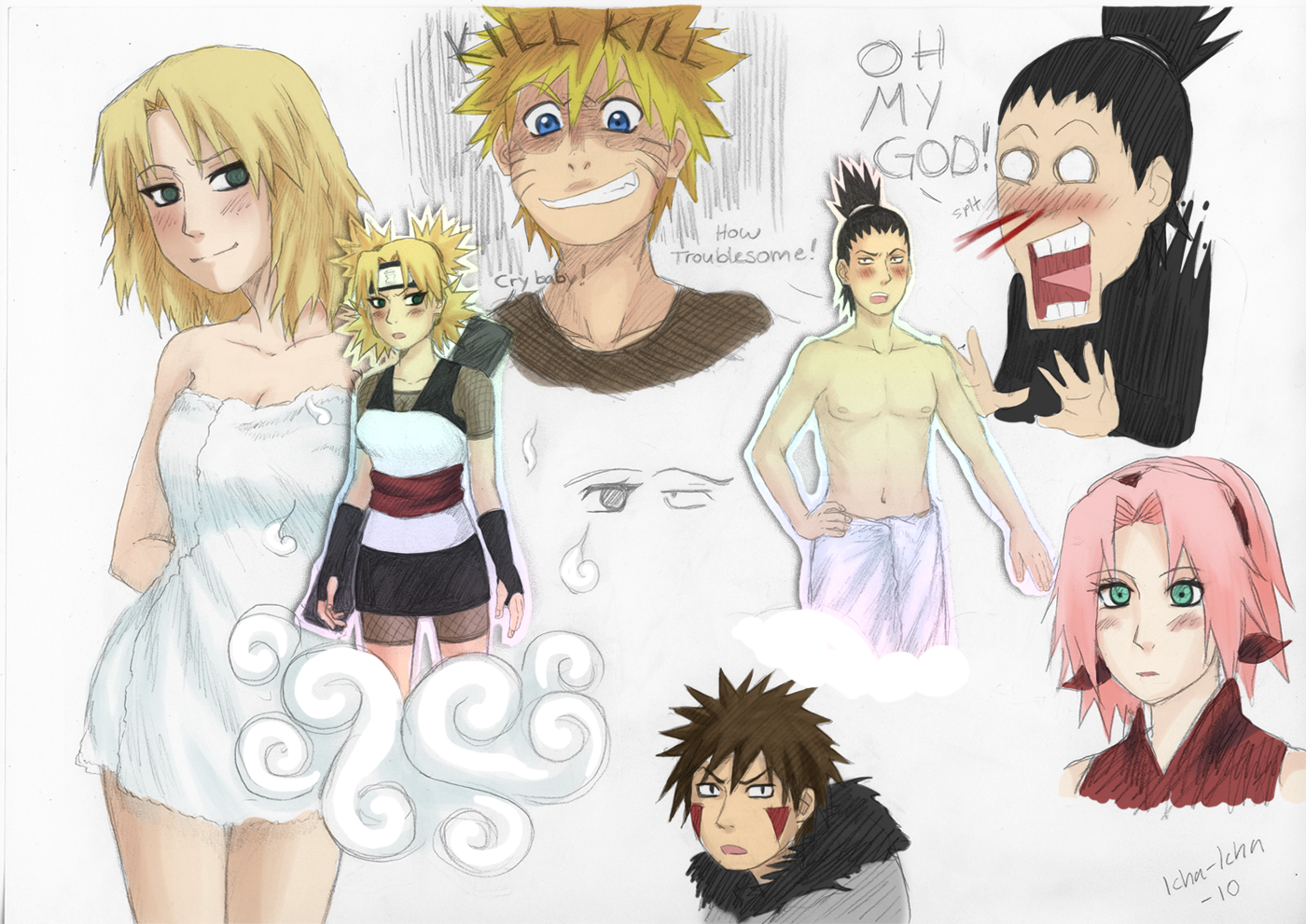 naruto dating temari fanfiction Any naruto fanfiction with the main plot orientating around female same sex couples fan ninja bingo book [126] an area to store fanfic information, such as bios, maps, political histories.