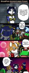 StarFox adventures comic by icha-icha