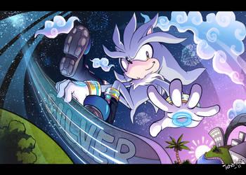 Silver the Silver Surfer by icha-icha