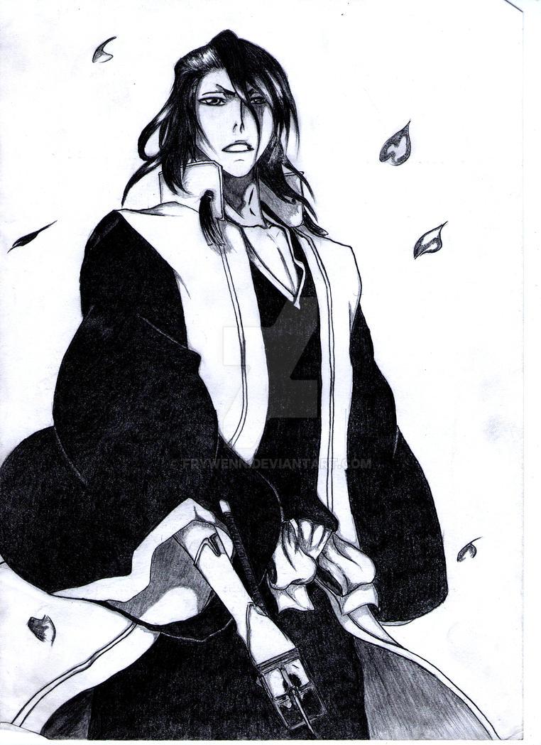 Byakuya Kuchiki 14. by Frywenn