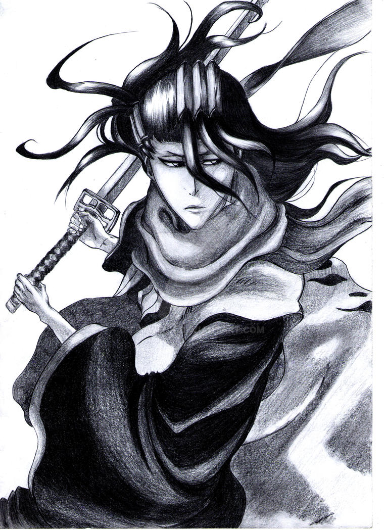 Byakuya Kuchiki 16. by Frywenn