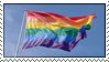 Rainbow Flag Stamp by Abfc