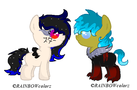 Devilsong foals 2 by Kyah-Pony-Adoptables