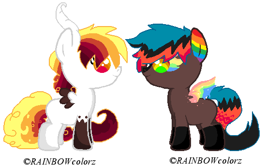AngelSong foals 1 by Kyah-Pony-Adoptables