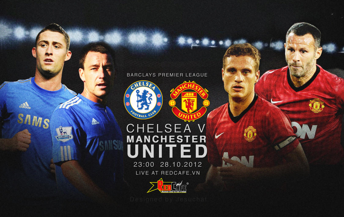 Chelsea Vs Manchester City 2012: Chelsea V Manchester United By Jesuchat On DeviantArt