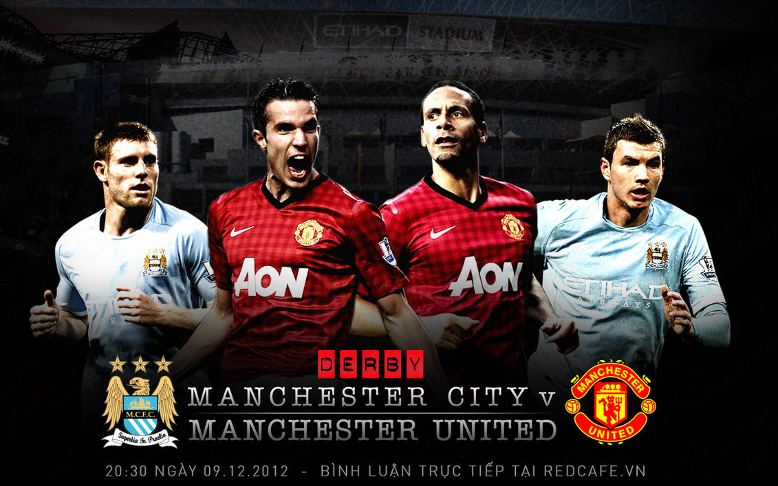 RedCafe.vn - Manchester United v Manchester City by Jesuchat on.