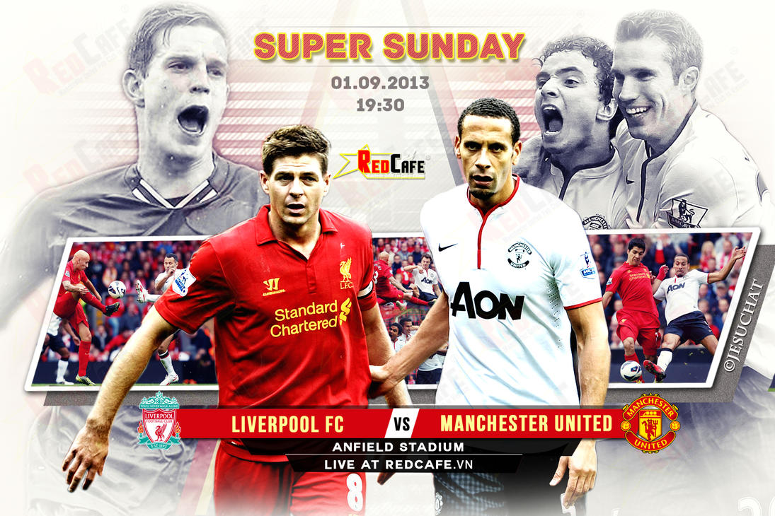 Super Sunday: Liverpool v Manchester United by Jesuchat on DeviantArt
