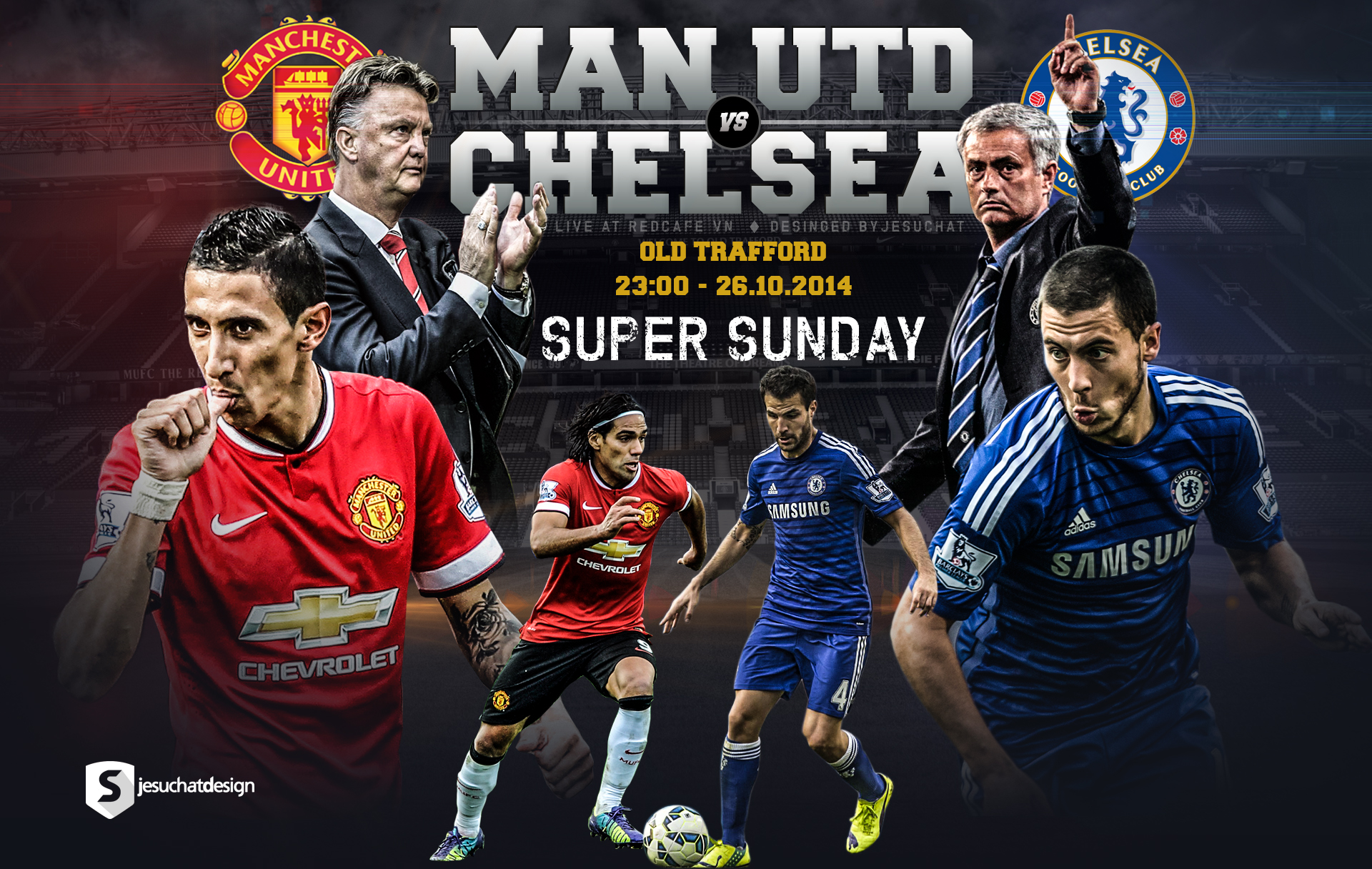 Man U Vs Chelsea: Man Utd V Chelsea By Jesuchat On DeviantArt