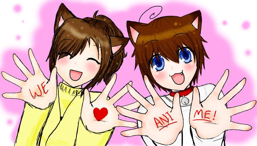 i love anime by rin nya nyah on deviantart