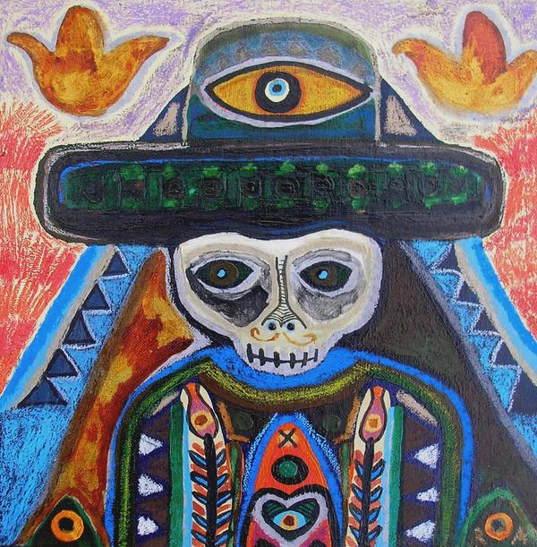 SugarSkull Boy by raamon