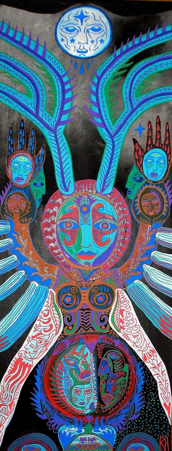 moon moth queen by raamon