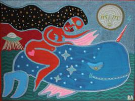 night swim by arturasrozkovas