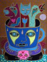 creature cup by arturasrozkovas