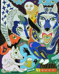 werewolfs by arturasrozkovas