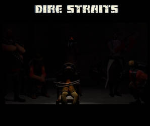 Dire Straits Comic Cover by kittin12376