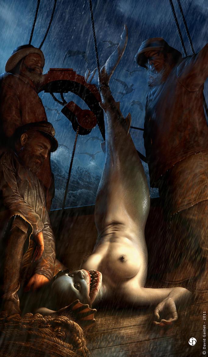 Mermaid Lamnidae by DavidGaillet