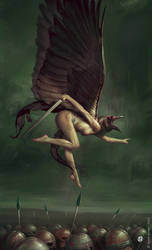 Morrigan by DavidGaillet